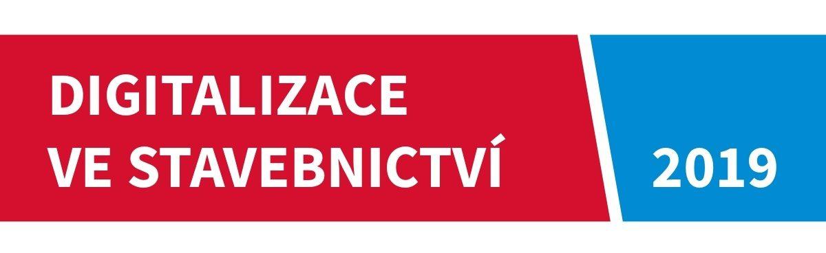 Logo - Digitalizace ve stavebnictví 2019