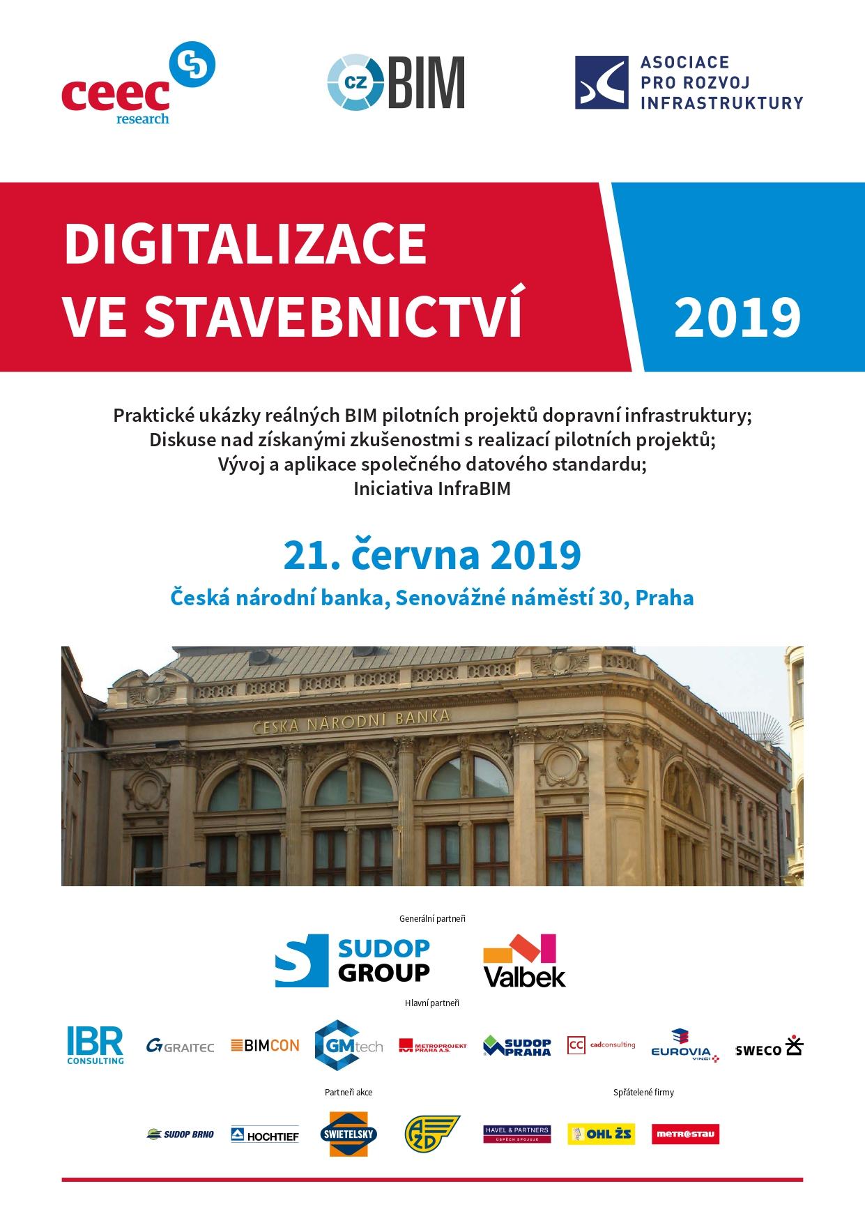 Pozvánka - Digitalizace ve stavebnictví 2019 (1/2)