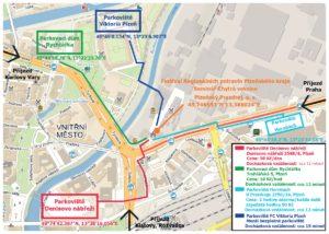 Mapa parkovišť