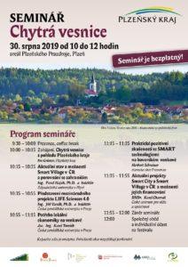 Program semináře Chytrá vesnice - Smart Village