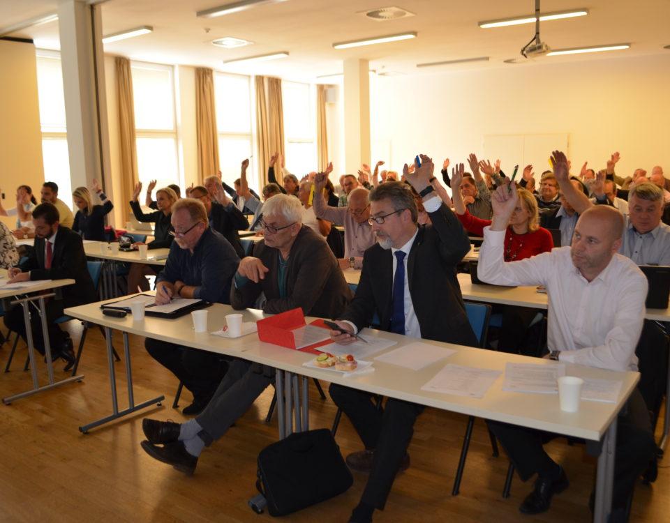 Hlasování Rady Svazu měst a obcí České republiky