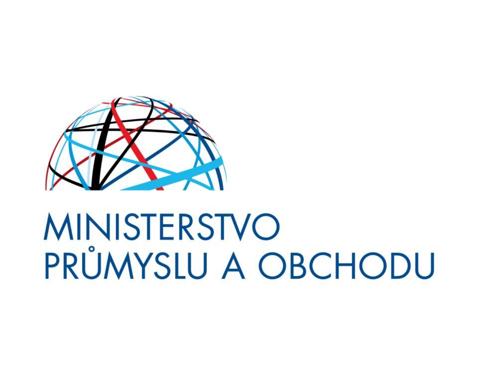 Novinka - Ministerstvo průmyslu a obchodu ČR - logo