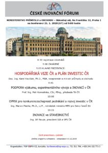 Program České inovační fórum